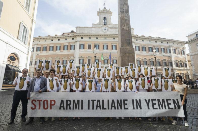 Stop armi yemen